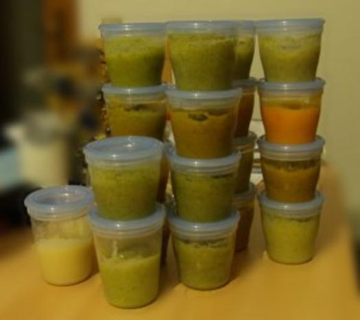 Babybrei-Mittagsbrei auf Vorrat-ab 5 Monat - Rezept - Bild Nr. 2