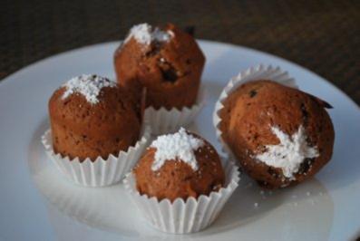 Rezept: Mini-Honigkuchen-Muffins