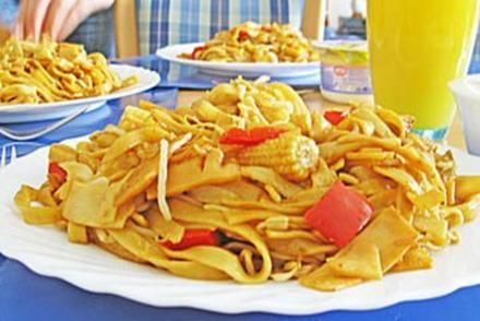 Chinesische Gemüse - Bratnudeln - Rezept