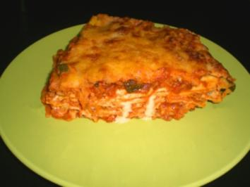 Gemüse-Hackfleisch-Lasagne - Rezept