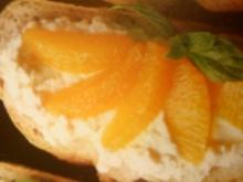 süßes Quarkbrot mit Orangen - Rezept