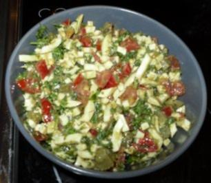 Ei-Tomaten-Relish - Rezept