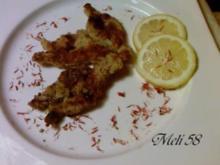 Vorspeisen: Panierte Froschschenkel in Sahnesoße - Rezept