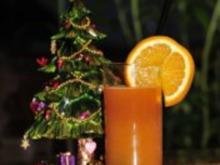 Weihnachtsgetränk - Orangenpunsch mit Aperol - Rezept
