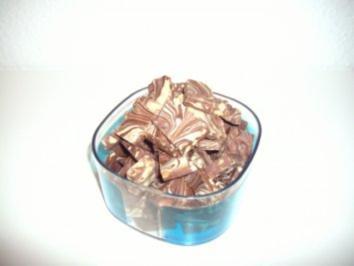 Schokoladen - Marmor - Rezept