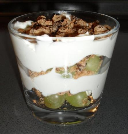 Quark-Nachspeise - Rezept