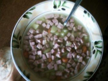 Kartoffel-Jagtwurst-Suppe - Rezept