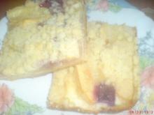 Obstkuchen mit Streuseln - Rezept
