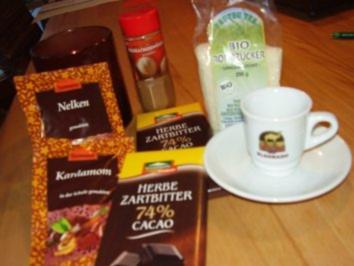 Chai-Trinkschokolade - Rezept
