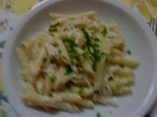 Zwergi's Pasta al Cancro (mit feinem Krebsfleisch) - Rezept