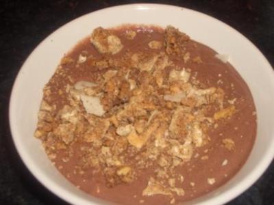 Dessert : Lebkuchen ~ Mousse - Rezept