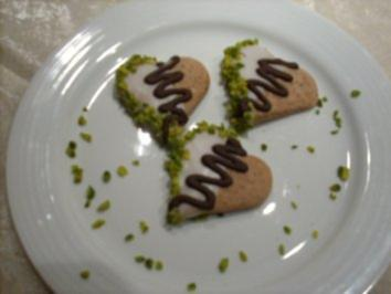 Schoko-Ingwer-Herzen - Rezept
