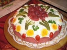Brottorte zum 90. Geburtstag - Rezept