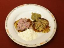 Lachs- Matjestatar auf Rösti (Anja Schüte) - Rezept