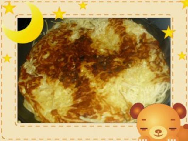Spaghetti-Frittata - Rezept - Bild Nr. 3