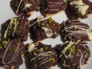 Nutella-Herzen mit Schokolade - Rezept