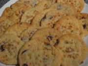 Schoko-Karamell-Cookies - Rezept