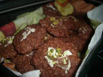 Haferflocken-Pistazien-Kekse - Rezept