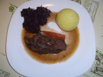 Wildschwein Blatt & Keule vom Überläuferchen - Rezept