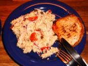 Pasta-Tunfischsalat mit Minutensteaks - Rezept