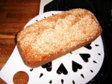 rein richtiges kerniges Brot - Rezept