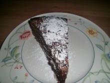Schoko Brownie-Kuchen - Rezept
