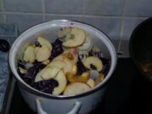 Apfelrotkraut - Rezept
