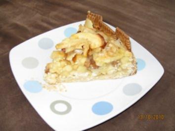 Apfel - Marzipan - Kuchen - Rezept