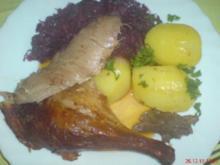 Ente (Beschwipst) im Bratenschlauch - Rezept