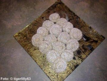 Weihnachten: Mohn-Marzipan-Busserl - Rezept