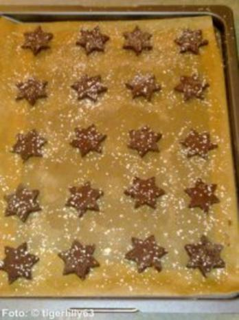 Weihnachten: Schoko-Gewürz-Sterne - Rezept - Bild Nr. 3