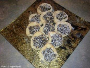 Weihnachten: Mohn-Plätzchen - Rezept