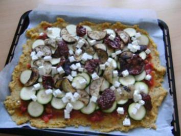 Polenta Pizza - Rezept