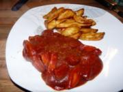 Gemischte Wurstpfanne in Currysoße - Rezept