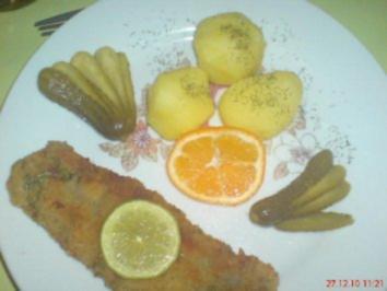 Matjes-Fischstäbchen selbst gemacht - Rezept