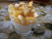 feines Dessert mit Früchten - Rezept