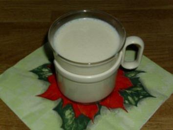 Heiße Marzipanmilch - Rezept