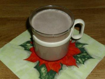 Heiße Nutellamilch - Rezept