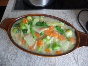 Aufläufe : Gemüseauflauf fast OHNE Kalorien... - Rezept