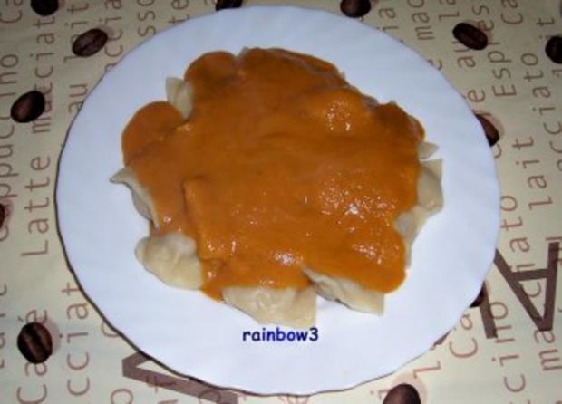 Kochen: Ravioli mit Enten-Füllung und dazu Möhren-Orangen-Sauce - Rezept