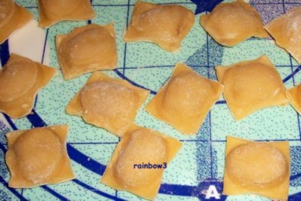 Kochen: Ravioli mit Enten-Füllung und dazu Möhren-Orangen-Sauce - Rezept - Bild Nr. 3