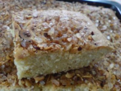 Haselnusskuchen - Rezept