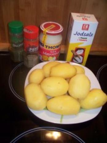 Kartoffelsalat mit Mayonnaise (Preußischer Kartoffelsalat) - Rezept - Bild Nr. 4