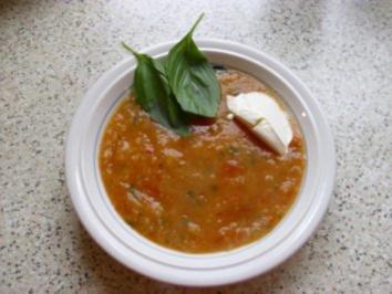 Tomatensuppe Provencale - Rezept