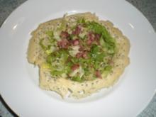 Endivchensalat im Parmesankörbchen - Rezept