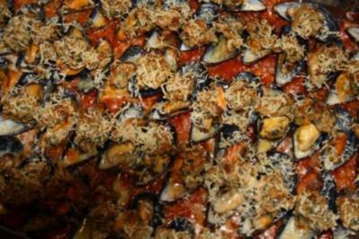 Muscheln überbacken - Rezept