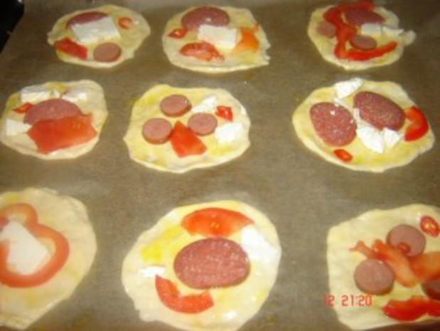 Mini Pizza - Rezept - Bild Nr. 7