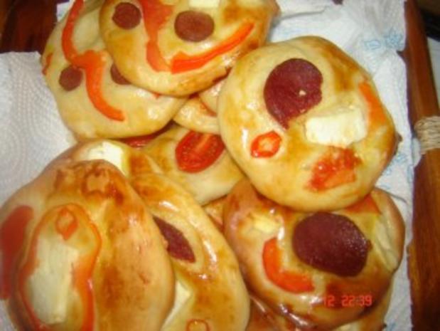 Mini Pizza - Rezept