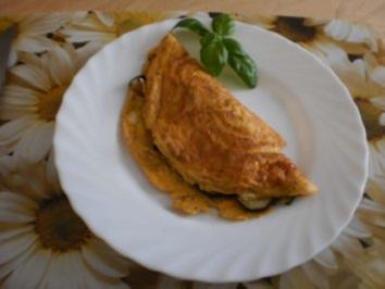 Zucchini-Omelett - Rezept