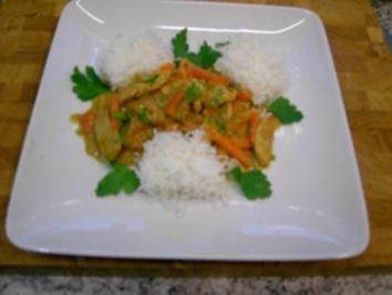 Puten Kürbis Curry - Rezept